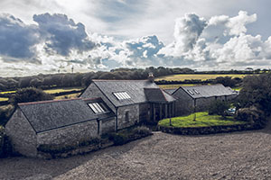 barn coversion cornwall - planning for sympathetic conversion of 3 barns to bespoke dwelling