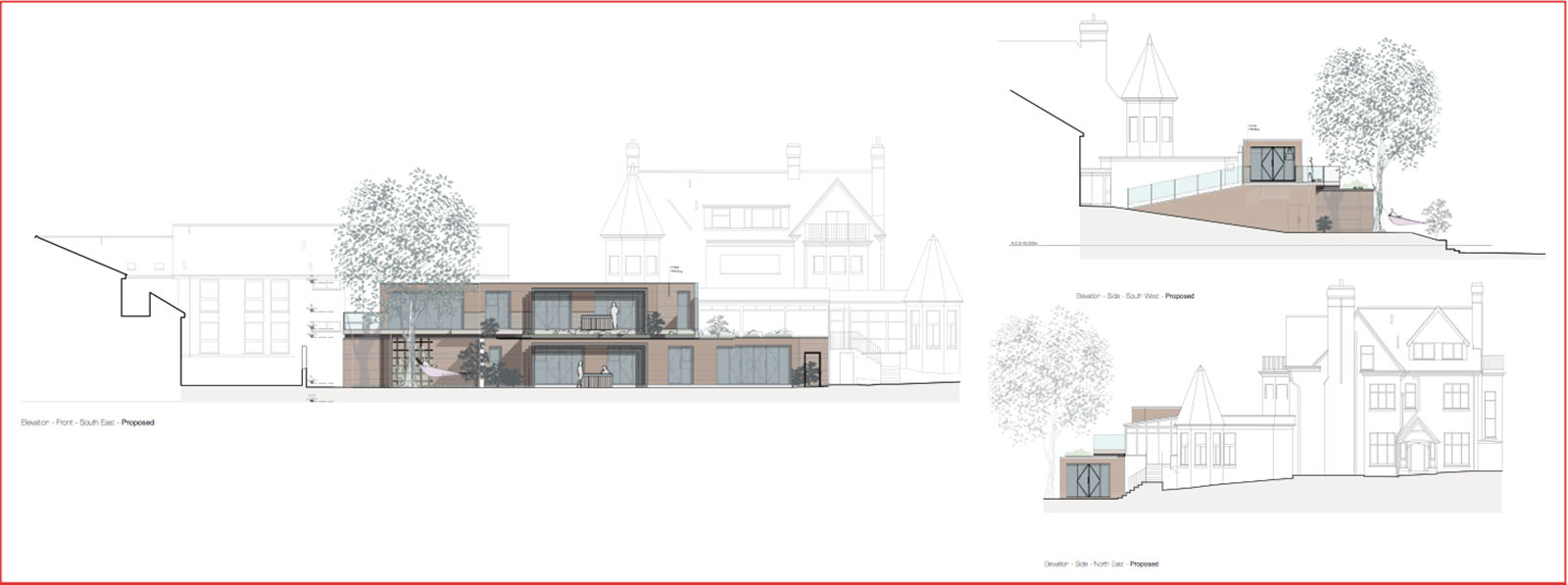 Self contained holiday units planning architecture - Location de vacances cornwall laurence associates ...