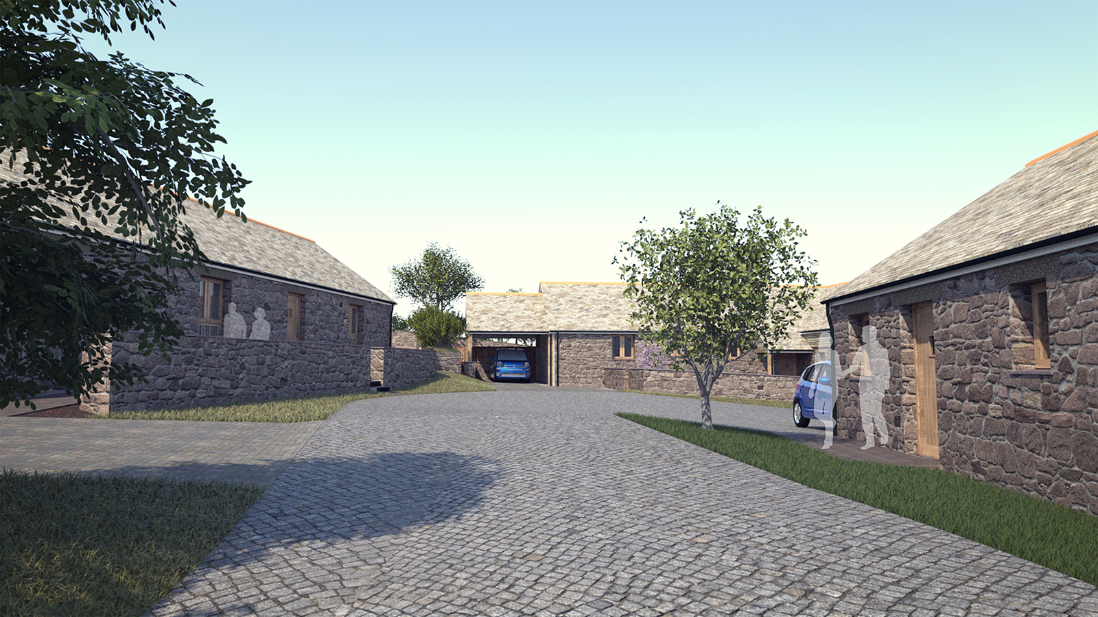 Six new homes planning architecture landscape - Location de vacances cornwall laurence associates ...