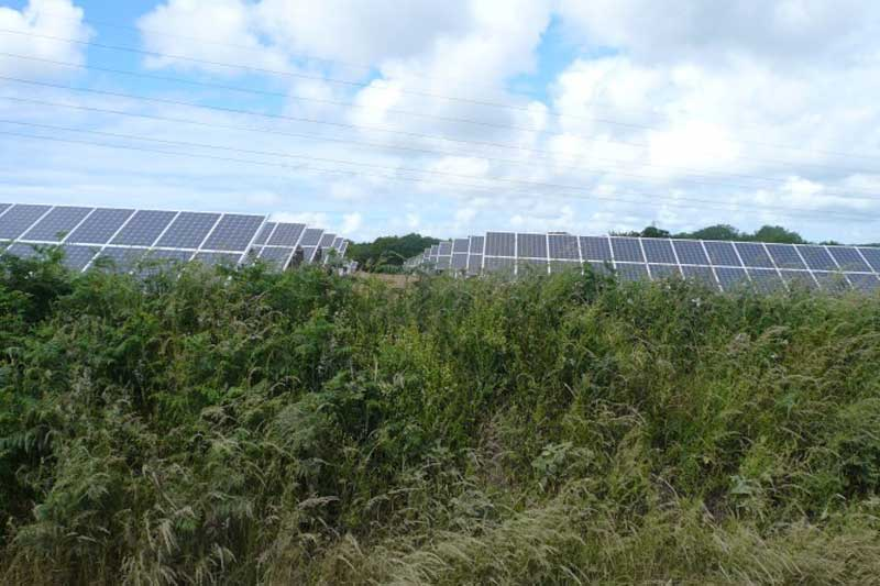 eveley solar farm hampshire 48mw