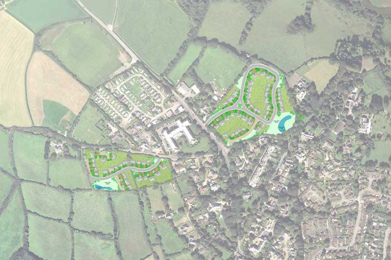 new housing development in Truro, cornwall