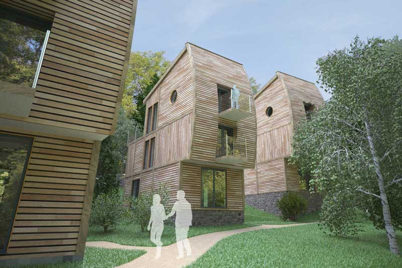 leycroft valley holiday chalet development in cornwall