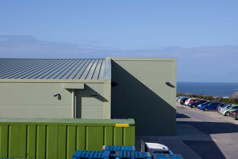 Trevarrian Creamery Cornwall industrial unit extension